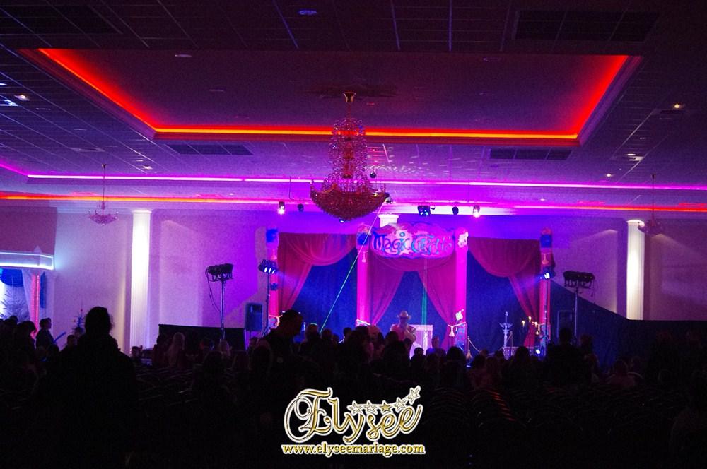 Salle de Réception - Elysée Mariage - Spectacle de Noël 19/12/12
