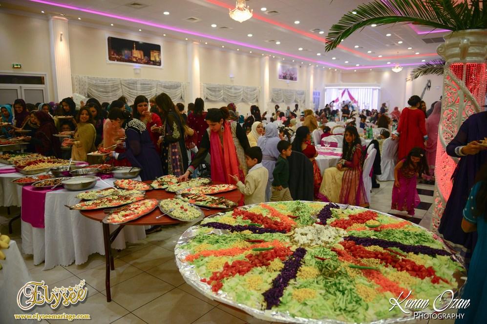 Salle de Réception - Elysée Mariage - Naïla et Ali 17 Avril 2014