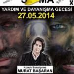 Soirée de Solidarité avec Murat Başaran - 27 Mai 2014