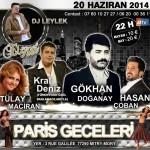 Soirée Arabesque avec Gökhan Doganay - 20 Juin 2014