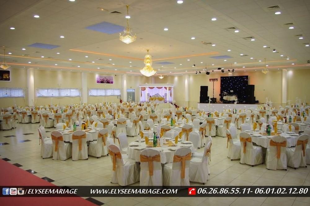 Decoration Salle De Mariage Blanc Et Dore : Présentation de la décoration couleur doré salle