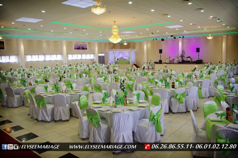 Décoration Salle De Mariage Blanc Et Vert Meilleure