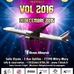 Jour de l'an 2016 avec Sensation Club Paris - 31 Décembre 2015