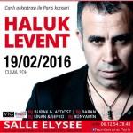 Concert de Haluk Levent - 19 Février 2016